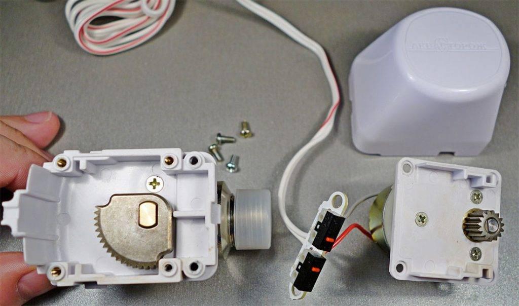 разобранный кран аквасторож
