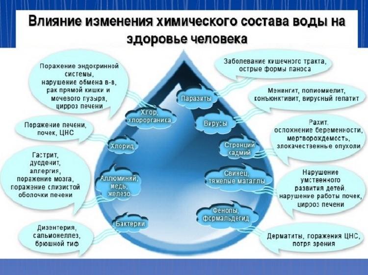 Качество воды влияет на качество жизни