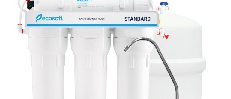 как поменять фильтр для воды