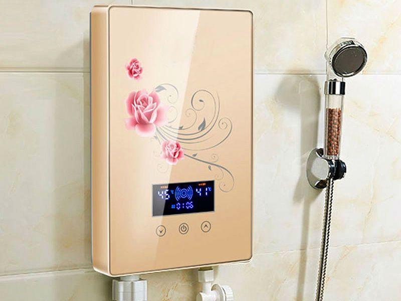 Проточный водонагреватель автоматический