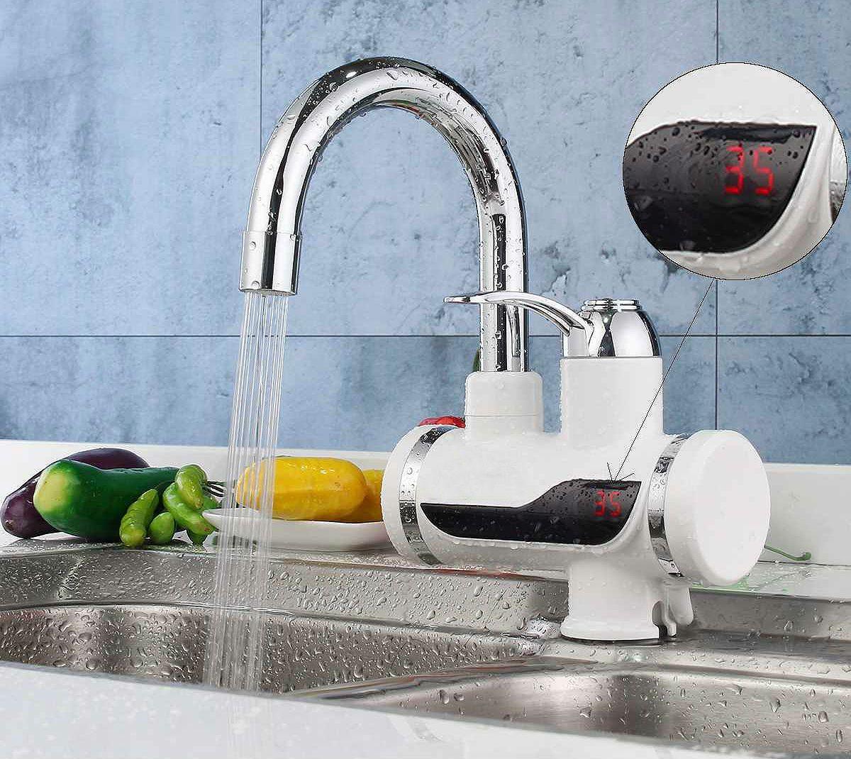 Проточный водонагреватель безнапорный