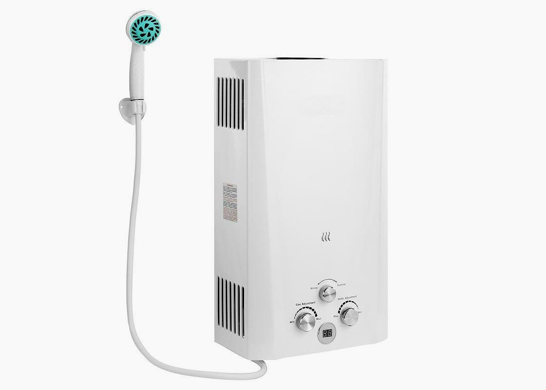 Проточный водонагреватель газовый