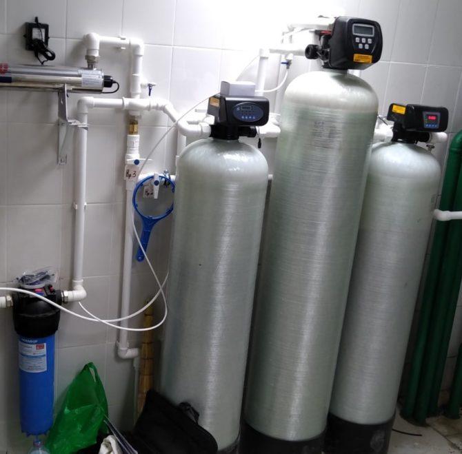 Установка доочистки воды из водопровода для столовой АО «Транснефть-Сибирь» в г.Тюмень